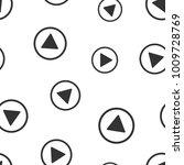 play button seamless pattern.... | Shutterstock .eps vector #1009728769