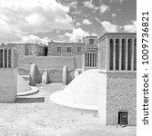 blur in iran the antique  ... | Shutterstock . vector #1009736821