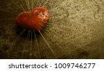 Heartbroken. Rusty Red Heart...