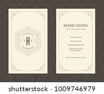 luxury business card and... | Shutterstock .eps vector #1009746979