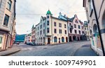 wonderful view of street of... | Shutterstock . vector #1009749901
