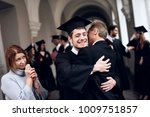 parents congratulate the... | Shutterstock . vector #1009751857