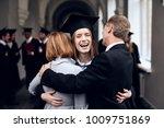parents congratulate the... | Shutterstock . vector #1009751869