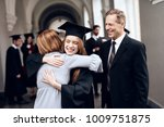 parents congratulate the... | Shutterstock . vector #1009751875