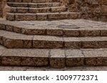 ancient stairs in stone old...   Shutterstock . vector #1009772371