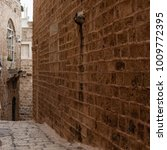 stone old city jaffa in tel aviv   Shutterstock . vector #1009772395