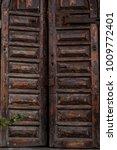 doors and window in  stone old...   Shutterstock . vector #1009772401