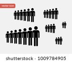 people icon set. crown.    Shutterstock .eps vector #1009784905
