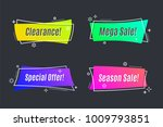 flat linear promotion vivid... | Shutterstock .eps vector #1009793851