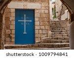 doors of the church in stone... | Shutterstock . vector #1009794841