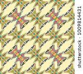 vector abstract seamless... | Shutterstock .eps vector #1009814431