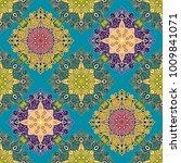 vector abstract seamless... | Shutterstock .eps vector #1009841071