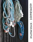 Fishing Ropes In Harbor
