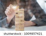 planning  risk and strategy in... | Shutterstock . vector #1009857421