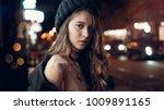 art portrait of a beautiful... | Shutterstock . vector #1009891165