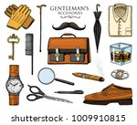 gentleman accessories set.... | Shutterstock .eps vector #1009910815