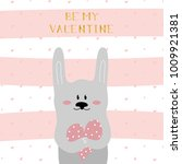 a card for saint valentine's...   Shutterstock .eps vector #1009921381