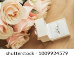 close up of engagement ring in... | Shutterstock . vector #1009924579