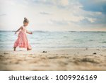 beautiful little girl at the... | Shutterstock . vector #1009926169