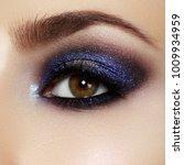 beautiful macro shot of female...   Shutterstock . vector #1009934959