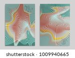 abstract cover template with... | Shutterstock .eps vector #1009940665