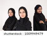 arab women in traditional dress ... | Shutterstock . vector #1009949479