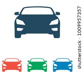 car icon set   simple flat... | Shutterstock .eps vector #1009957357