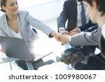 business team working together... | Shutterstock . vector #1009980067