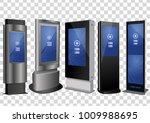 five promotional interactive... | Shutterstock .eps vector #1009988695