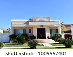 luxury villas and estates with ... | Shutterstock . vector #1009997401