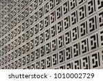 concrete decorative square...   Shutterstock . vector #1010002729