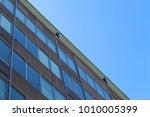 old sixties office building in...   Shutterstock . vector #1010005399