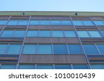 old sixties office building in... | Shutterstock . vector #1010010439
