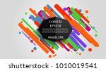 vector  abstract geometric... | Shutterstock .eps vector #1010019541