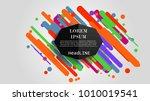 vector  abstract geometric... | Shutterstock .eps vector #1010019541