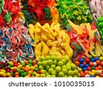 assortment of colorful candies...   Shutterstock . vector #1010035015