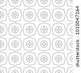 seamless geometric vector... | Shutterstock .eps vector #1010047264