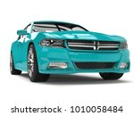 bright cerulean blue modern... | Shutterstock . vector #1010058484