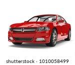 beautiful red modern city... | Shutterstock . vector #1010058499