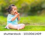 clean food foe kid concept ... | Shutterstock . vector #1010061409