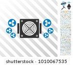 ripple mining asic device... | Shutterstock .eps vector #1010067535