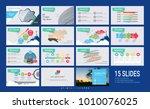 presentation slide template for ... | Shutterstock .eps vector #1010076025