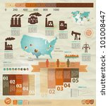 detail infographic vector... | Shutterstock .eps vector #101008447