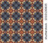 cotton or silk headscarf ... | Shutterstock .eps vector #1010130835