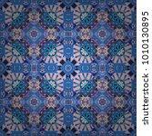 vector seamless abstract... | Shutterstock .eps vector #1010130895