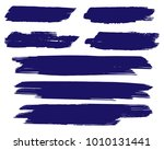 collection of hand drawn dark... | Shutterstock .eps vector #1010131441