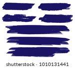 collection of hand drawn dark... | Shutterstock .eps vector #1010131441