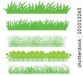 Grass  Shrubs