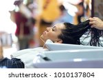 portrait of beautiful young...   Shutterstock . vector #1010137804