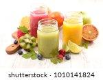 fruit juice  healthy drinking   Shutterstock . vector #1010141824